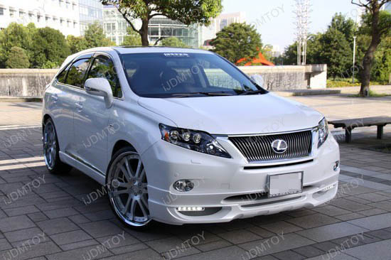 Lexus - RX350 - led - daytime - running - lights - 1